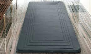 memory foam bathroom rugs great elegant x bath rug memory foam x extra long bath rug