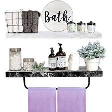 acrylic bathroom shelves floating wall