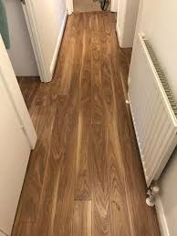 brand new walnut laminate flooring high quality with free underlay