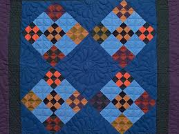 Double Nine Patch Quilt -- gorgeous skillfully made Amish Quilts ... & ... Amish Double Nine Patch Wall Hanging Photo 2 ... Adamdwight.com