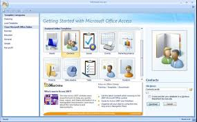 Microsoft Office 2007 Templates Download Outlook Synchronizing And Internet Maps In The Access 2007 Contacts
