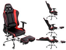 office recliners. Merax Ergonomic Series Pu Leather Office Chair Racing With Footrest Computer Gaming Chair, Recliner Recliners E