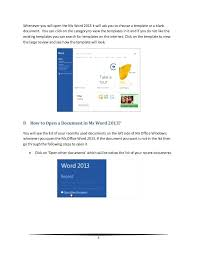 Office 2013 Word Templates Microsoft Office 2013 Word Templates Copster Co