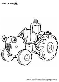 Traktor Ted Kleurplaat Ausmalbilder Postbote Pat Malvorlagen