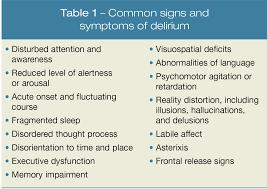How is delirium treated