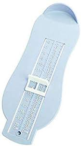 Baby Foot Measure Chart Amazon Com Aolvo Shoe Sizer Professional Foot Measuring