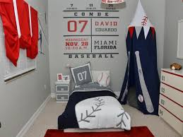 image of baseball toddler bed color
