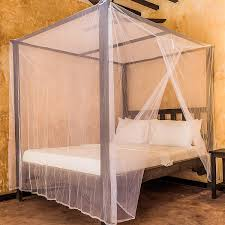 Universal Backpackers Mosquito Net for Single to King-Sized Beds - 2 Side Openings & 6 Hanging Loops - Decorative Rectangular Shape for Home & Travel ...