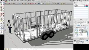 Tiny House Design Software How To Draw A Tiny House With Google Sketchup Part 1