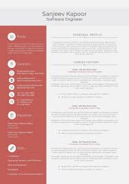 Best Resume For Software Engineer Reasons Why Best Software Invoice And Resume Template Ideas