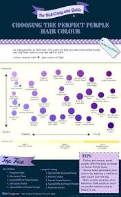 Shades Of Purple Hair Dye Chart Eggplant Color Chart Jevely Co