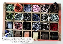 e crate tie storage rainonatinroof com e crate tie