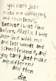 Looking For Alaska Quotes With Page Numbers Adorable Looking For Alaska Favorite Quote Books Book Quotes