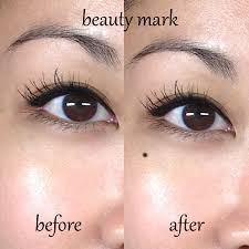 beauty mark tattoo before after google search