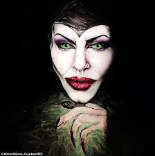 maria as angelina jolie s maleficent from the cent hit she creates all her looks