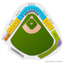 Tempe Diablo Stadium Seating Chart Spring Training Chicago White Sox At Los Angeles Angels Of