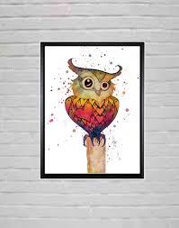 Owl Bedroom Decor Kids Owl Room Decor Etsy