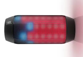 Jbl Pulse Bluetooth Speaker Includes A Panel Of Led Lights