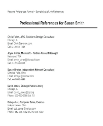 Examples Of Resume References Breathelight Co