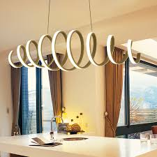 glow lighting chandeliers. new style aluminum white high brightness double glow modern led chandeliers for dining kitchen room home dec hanging chandelier lighting e