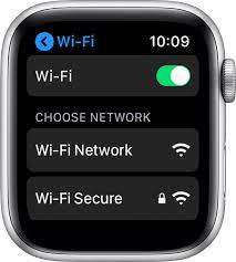connect your apple watch to wi fi