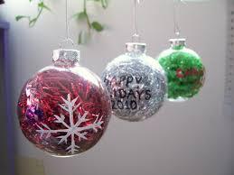 plastic ball ornament crafts