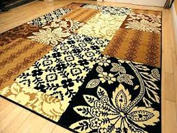 black brown and beige area rugs cream rug large modern contemporary carpet narrow hallway runner br