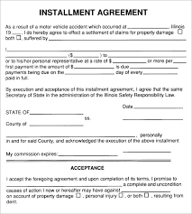 Payment Plan Template Car Payment Agreement Form Magdalene Project Org