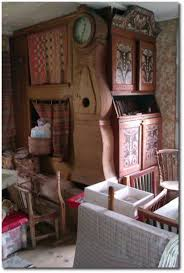 traditional scandinavian furniture. Traditional Beds In The Kitchen Of An Old Swedish Farm House. Scandinavian Furniture A