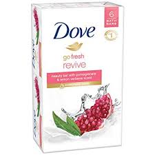 Dove go fresh Beauty Bar, Pomegranate and Lemon ... - Amazon.com