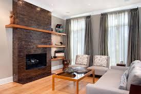 contemporary floating mantel shelf living room contemporary with floating shelves contemporary single panel curtains