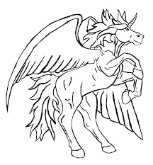 Pegasus Coloring Pages 2 Willpower In Amusing Print Image Printables