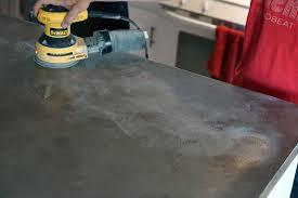 concrete primer sanding