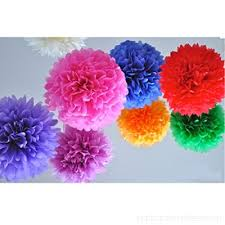 Large Tissue Paper Flower Hqdeal 10 Mixed Color Large Tissue Paper Pom Poms Butter Christmas Wedding Birthday Party Decorations Supplies 12 Inches Fgutux9gu