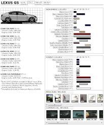 Gs 3rd Gen Paint Code Information Clublexus Lexus Forum