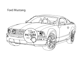 Small Picture Super car Ford Mustang coloring page cool car printable free