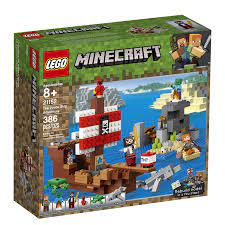 LEGO Minecraft 21152 The Pirate Ship Adventure - Thuyền hải tặc -