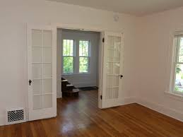 painting wood trim white to plete a