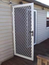 aluminum security screen door. Aluminum Security Screen Door A