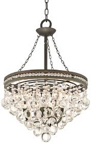 regina olive bronze 19 wide crystal chandelier com regarding oil rubbed with crystals decor 16