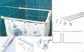 l shower curtain rods corner shower curtain rod inside plan shower curtain rods menards shower curtain