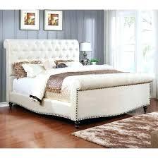 tufted upholstered sleigh bed. Fine Upholstered Tufted Sleigh Bed Queen Upholstered  In