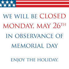 Closed Signs Template Memorial Day Closed Signs Free Download