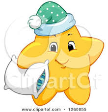 cute pillow clipart. cute happy yellow star holding a pillow by bnp design studio clipart