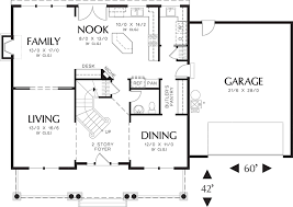 2100 Sq Ft Square House Floor Plan Plans Farm  Luxihome2200 Sq Ft House Plans