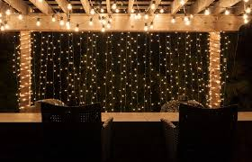 Transform Your Backyard With Outdoor And Patio Lighting Christmas Lights In Backyard