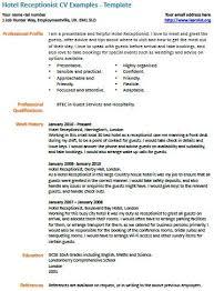hotel receptionist cv example learnistorg hotel receptionist resume sample