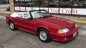 1987 Ford Mustang GT Convertible - YouTube