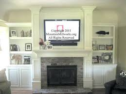 wall mount tv above fireplace plasma install support how