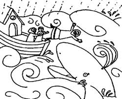 Small Picture Jonah and the Whale Illustration Coloring Page NetArt